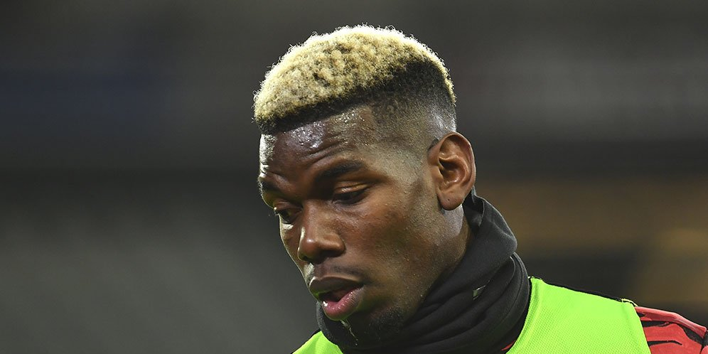 Gelandang Manchester United Paul Pogba