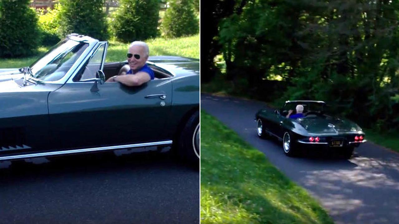 Intip koleksi Mobil Keren Joe Biden