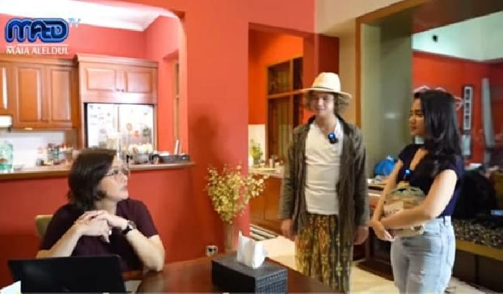 Dul Jaelani mengajak kekasihnya, Tissa Biani bertemu Maia Estianty.