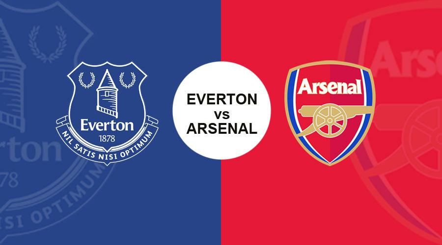 Premier League, Everton vs Arsenal