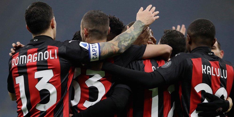 Skuad AC Milan.