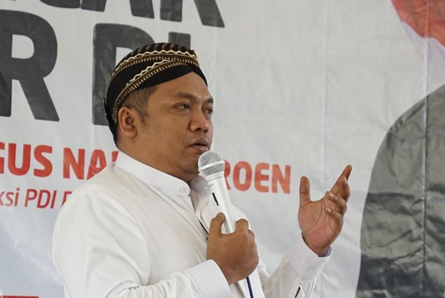 Ketum PP Pagar Nusa sekaligus Anggota DPR Fraksi PDI Perjuangan Muchamad Nabil Haroen (Gus Nabil).