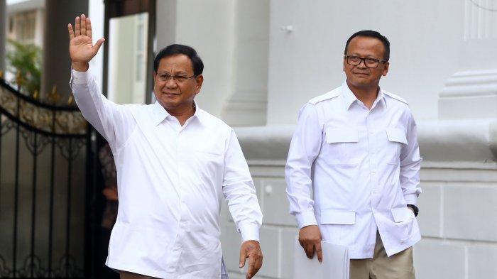 Prabowo Subianto dan Edhy Prabowo