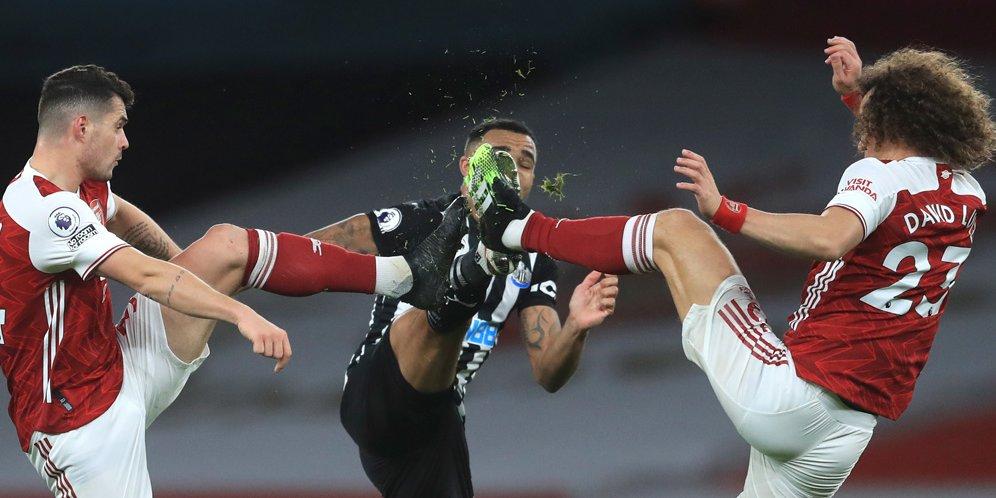 Duel Arsenal vs Newcastle, Premier League 2020/21. © AP Photo