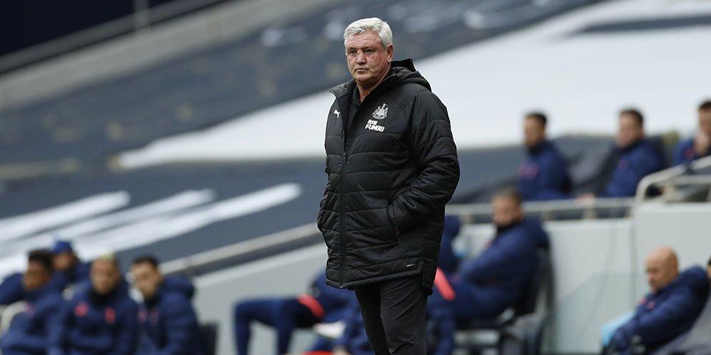 Manajer Newcastle Steve Bruce. © AP Photo