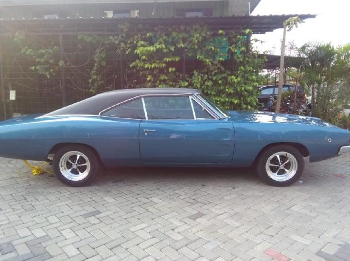 Mobil sport dua pintu keluaran 1968-1970 (generasi II) Dodge Charger warna biru laut dilelang Bea Cukai Tanjung Priok pada 16 Februari 2021. Harga penawaran awal Rp 99,5 juta. Mobil seperti ini menjadi daya tarik dalam film sekuel Fast & Furious. FOTO: Situs Lelang Indonesia