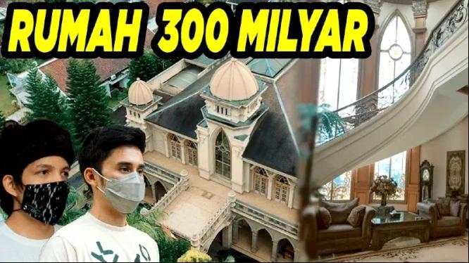 Rumah mewah Rp300 miliar milik Alshad Ahmad