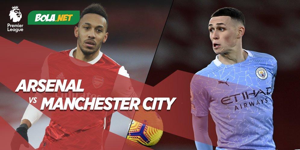 Premier League, Arsenal vs Manchester City